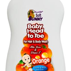 Sữa Tắm Gội Bé Baby Head To Toe 1L Hương Cam - Malaysia giá sỉ