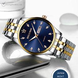 Đồng hồ nam BELUSHI Darcy Máy nhật - Kim Dạ Quang - Chống nước tốt giá sỉ