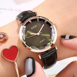 Đồng hồ nữ GEDI 9651 Dây da giá sỉ