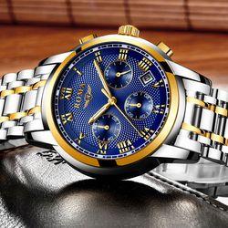 Đồng hồ Nam ROMA ITALY 9903 Elira Kính Tráng Sapphire Full Kim – Dây thép đúc đặt giá sỉ