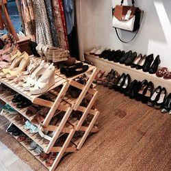 Kệ giày xếp nhiều tầng