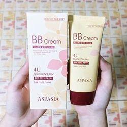 Kem Nền Chống Nắng Aspasia 4U Special BB Solution Cream Spf50 Pa