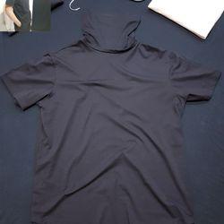 Áo thun vạt bầu ninja unisex giá sỉ