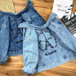 Áo khoác Jean mẫu mới hàng ngày- hình thật - giá xưởng giá sỉ