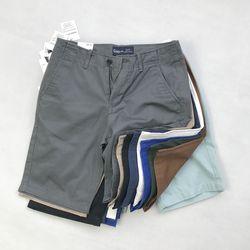 Nhiều màu quần short kaki nam ngang gối phom xuất giá sỉ