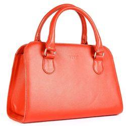 Túi xách nữ da thật màu đỏ