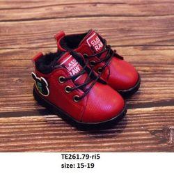 Giầy BT hình gấu đỏ S15-19 ri 5 TE261 giá sỉ