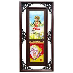 Lịch Phù Điêu Phong Thủy Mặt Đá Thư Pháp Mẹ Maria giá sỉ