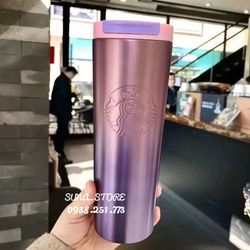 Bình Giữ Nhiệt Starbucks Tím Sỉ Từ 10 Cái