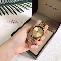 đồng hồ nữ mạ vàng giá sỉ