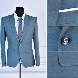 Áo Vest nam dáng ôm eo vải mịn không xù Màu 826 giá sỉ