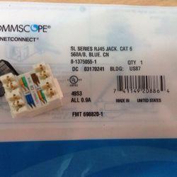 Nhân mạng COMMSCOPE/AMP Cat6 – Modular Jack Cat5e giá sỉ