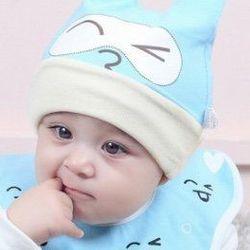 Set mũ yếm tròn mắt mèo cho bé giá sỉ
