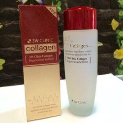 Nước hoa hồng đỏ collagen 3w dành da lão hoá