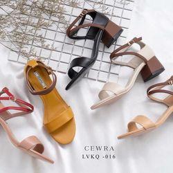 Giày sandal hậu búp bê phối màu mùa tết 959ST05 giá sỉ