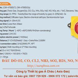 Đầu báo rò rỉ oxy dùng trong công nghiệp QM-4700DT giá sỉ
