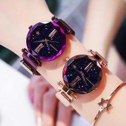 Đồng hồ nữ dây nam châm hot giá sỉ