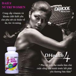 Daily Nutri Women – Viên bổ sung đa vitamin hàng ngày cho phụ nữ lọ 100 viên giá sỉ