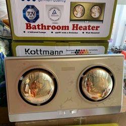 Đèn sưởi Kottmann 2 bóng giá sỉ