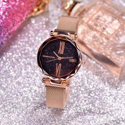 Đồng hồ nữ dây nam châm hot hit giá sỉ