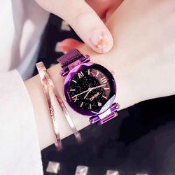 Đồng hồ nữ dây nam châm 2 giá sỉ