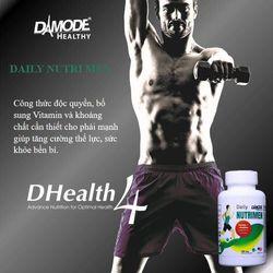 Daily Nutri Men – Viên bổ sung đa vitamin cho nam giới lọ 100 viên giá sỉ
