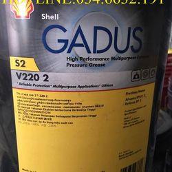 Mỡ bôi trơn SHELL GADUS S2 V220 2 xô 18Kg giá sỉ