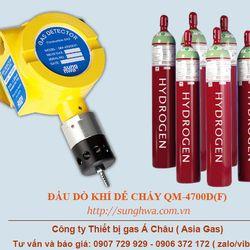 Máy báo rò rỉ khí Hydro H2 công nghiệp QM-4700DF giá sỉ