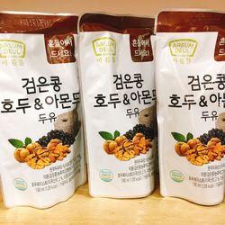 Sữa óc chó đỗ đen hạnh nhân Hàn Quốc 190ml x 20 bịch giá sỉ