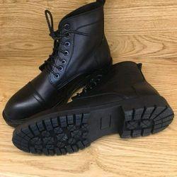 Giày boot cao cổ nam da cực thích đế chắc chắn giá sỉ
