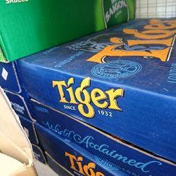 Bia tiger thùng 24 lon giá sỉ