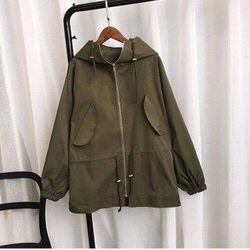 áo khoác dù có dây rút giá sỉ