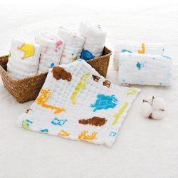 Set 5 khăn sữa 4 lớp giá sỉ
