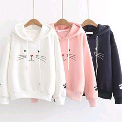 áo hoodie mèo giá sỉ