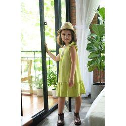 Đầm Baby kèm băng đô đầu cho bé gái Hikari-6