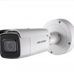Camera IP Trụ hồng ngoại 4MP chuẩn nén H265 ống kính 28-12mm DS-2CD2643G0-IZS giá sỉ