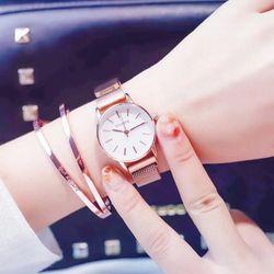 Đồng hồ nữ Ulzzang dây nam châm hot giá sỉ
