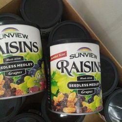 Nho khô thập cẩm không hạt Raisin Mỹ 425g