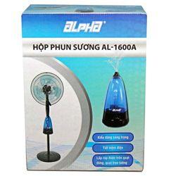 Hộp phun sương tạo ẩm Alpha AL-1600A Xanh dương giá sỉ