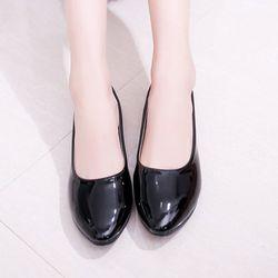 Giày búp bê da bóng mềm dáng chuẩn -309 giá sỉ, giá bán buôn