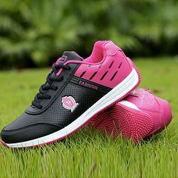 Giày sneaker nữ kiểu dáng mới lạ gam màu dễ dàng phối đồ 502 giá sỉ