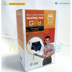 Đai quấn nóng Heating Pad Gold tặng Gen nịt bụng giá sỉ