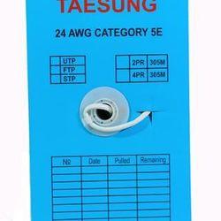 Cáp mạng FTP CAT5E Taesung hợp kim bọc bạc giá sỉ