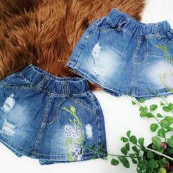 Quần jeans bé gái giả váy size 9-14 giá sỉ