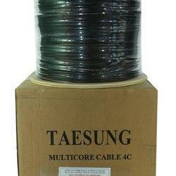 Cáp điện thoại 4 lõi đồng có dây chịu lực Taesung giá sỉ