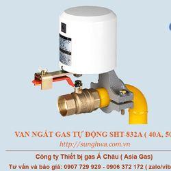 Van ngắt gas tự động đường ống 32A 40A 50A Sunghwa giá sỉ