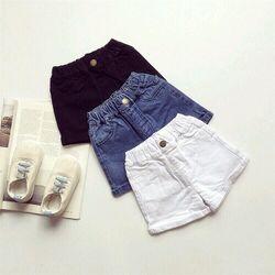 quần short jeans bg order 15n nhí - QBG008-8085 giá sỉ