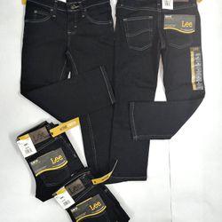 Quần Jeans Lee Xanh Đen Bé Trai - Hàng Mỹ
