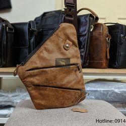Túi đeo chéo DA BÒ THẬT giá sỉ