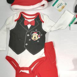 Bộ Noel Bé Trai từ 0 -12 tháng - Hàng Mỹ Disney Baby